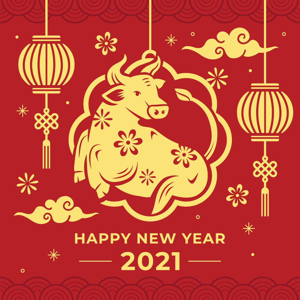 Chinese New Year 2021 Year Of The Ox Chinese New Year Crafts Chinese New Year Design Chinese New Year Decorations