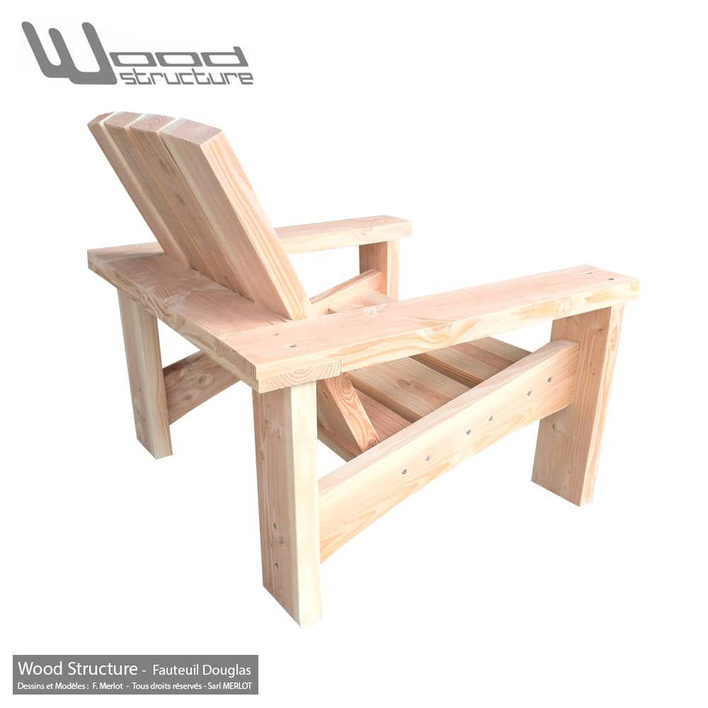 Fauteuil Douglas XL en 2019 | Meubles de jardin en bois ...