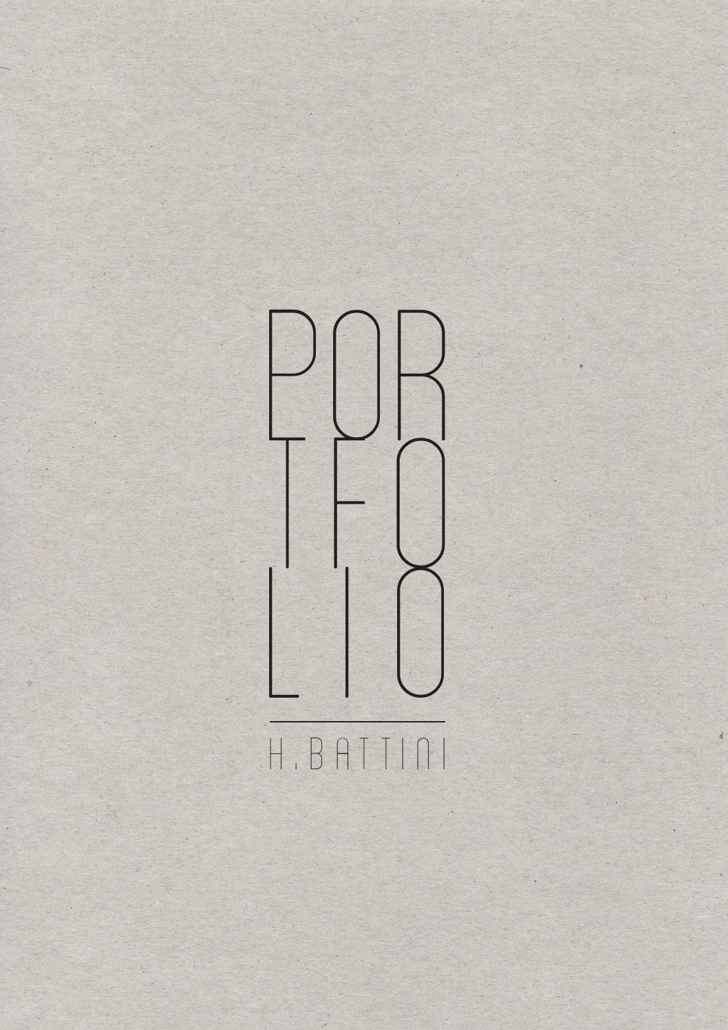 Architecture portfolio h l ne battini ensav for Portfolio architektur