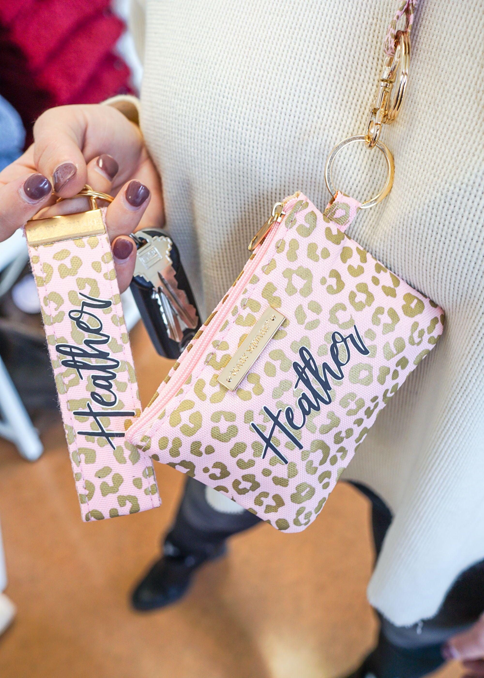 Blush leopard personalized gifts in 2021 gifts for