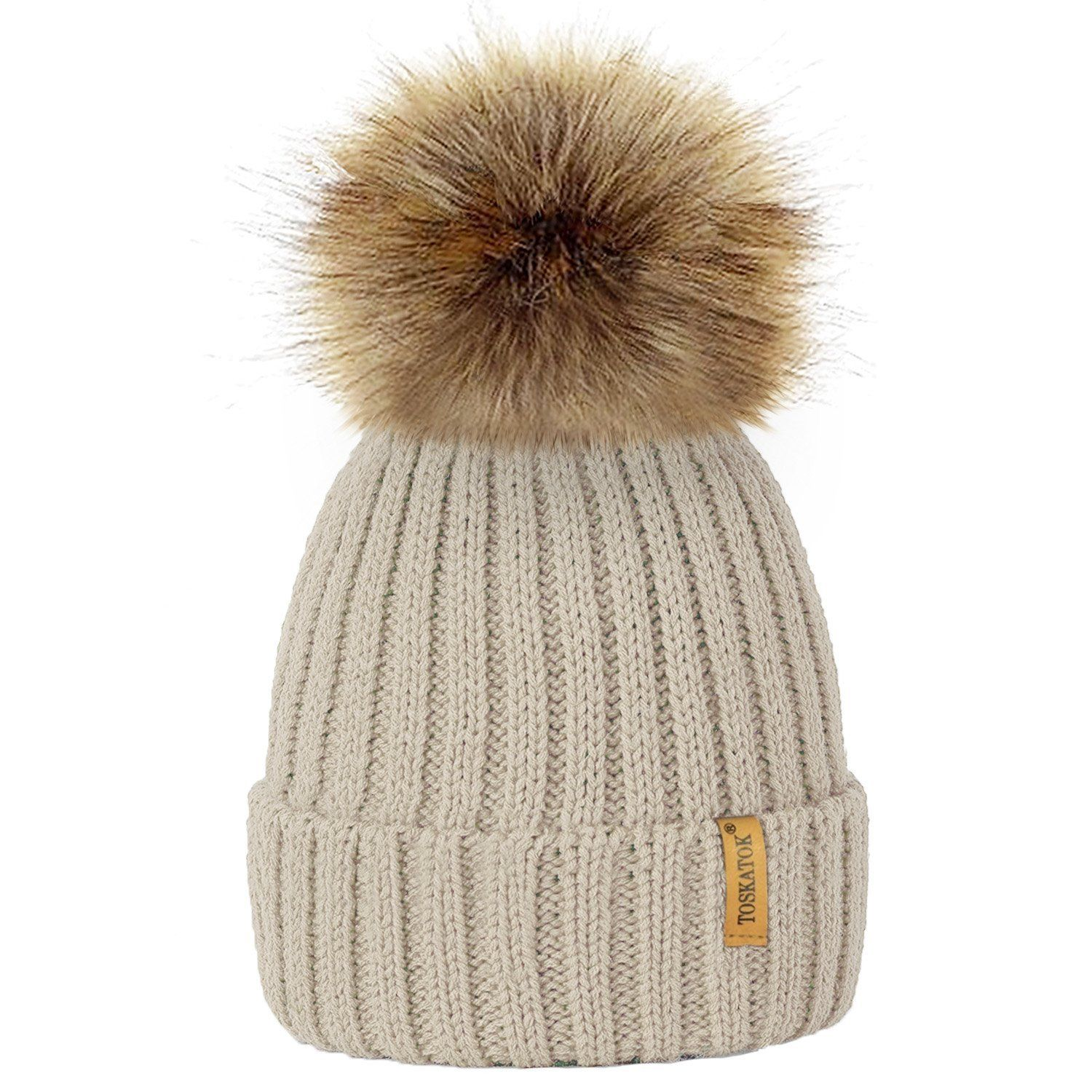 f18b4e21b53 Bobble Hats for him and her | Hats | Baby beanie hats, Fur pom pom ...