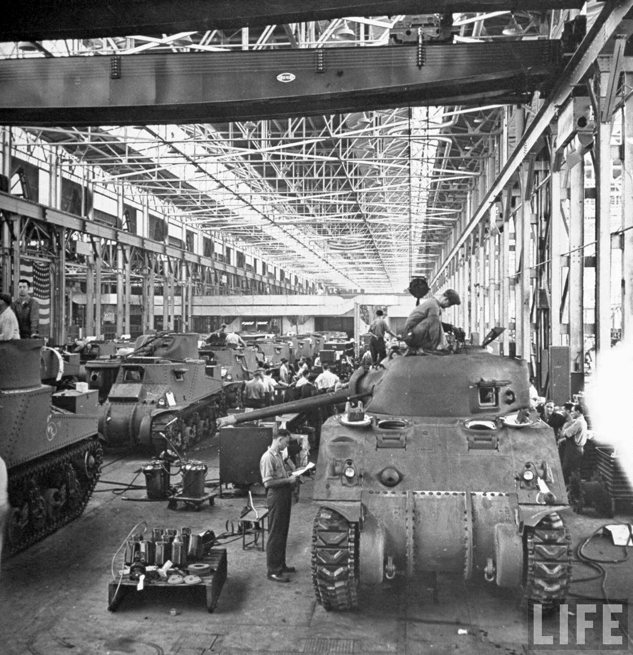 The Arsenal of Democracy: Detroit car makers produce for World War II, 1942