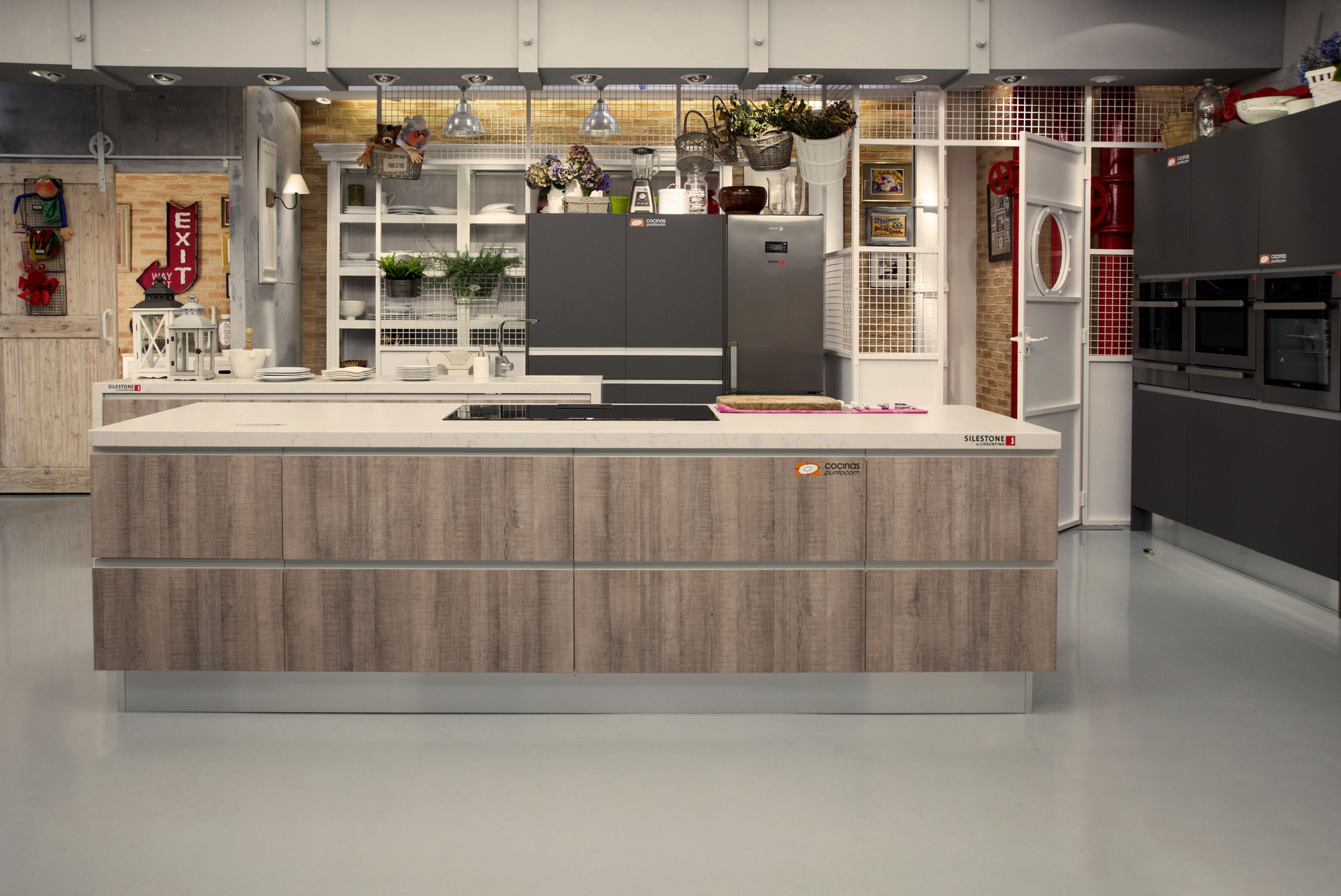 Cuarta cocina montada por para el programa de - Television en la cocina ...