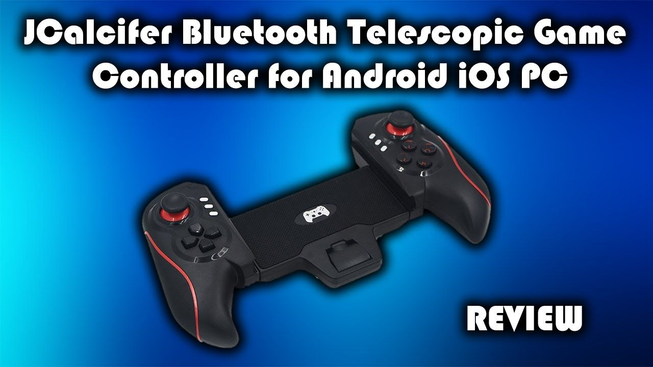 JCalcifer Bluetooth Telescopic Gamepad for Android IOS and PC Review