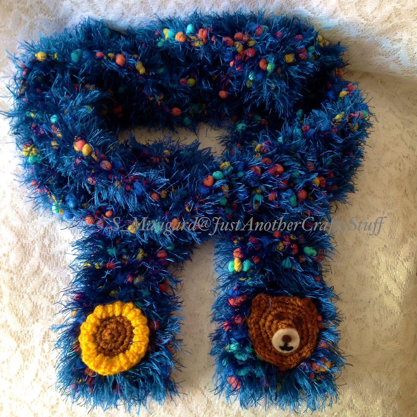 Ravelry: jacstuff\'s Fluffy Fun Scarf   Freeform Crochet   Pinterest