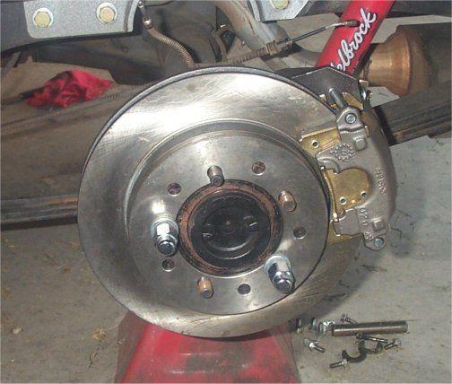 85 C10 Rear Disc Brake Conversion C10 Brake Disc