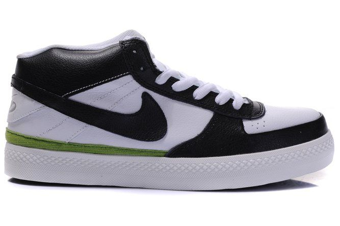 Nike Dunk Mid SB Weiß Grün Herrenschuhe Schuhe, EUR €63.21