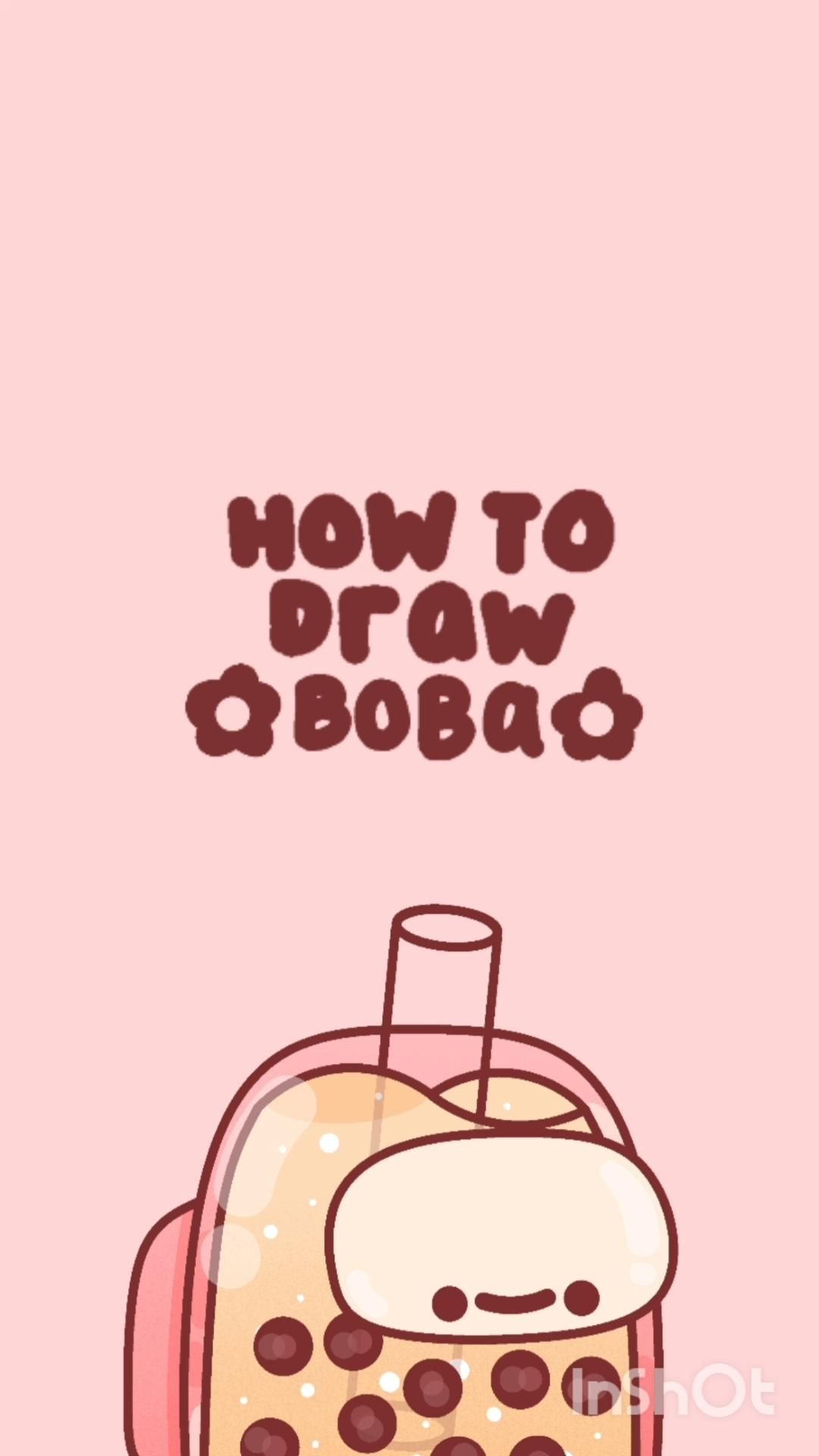 How to draw Boba