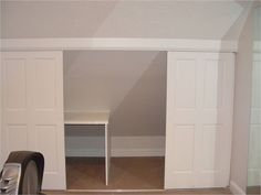 Knee Wall Storage Design, Pictures, Remodel, Decor and Ideas - page 3