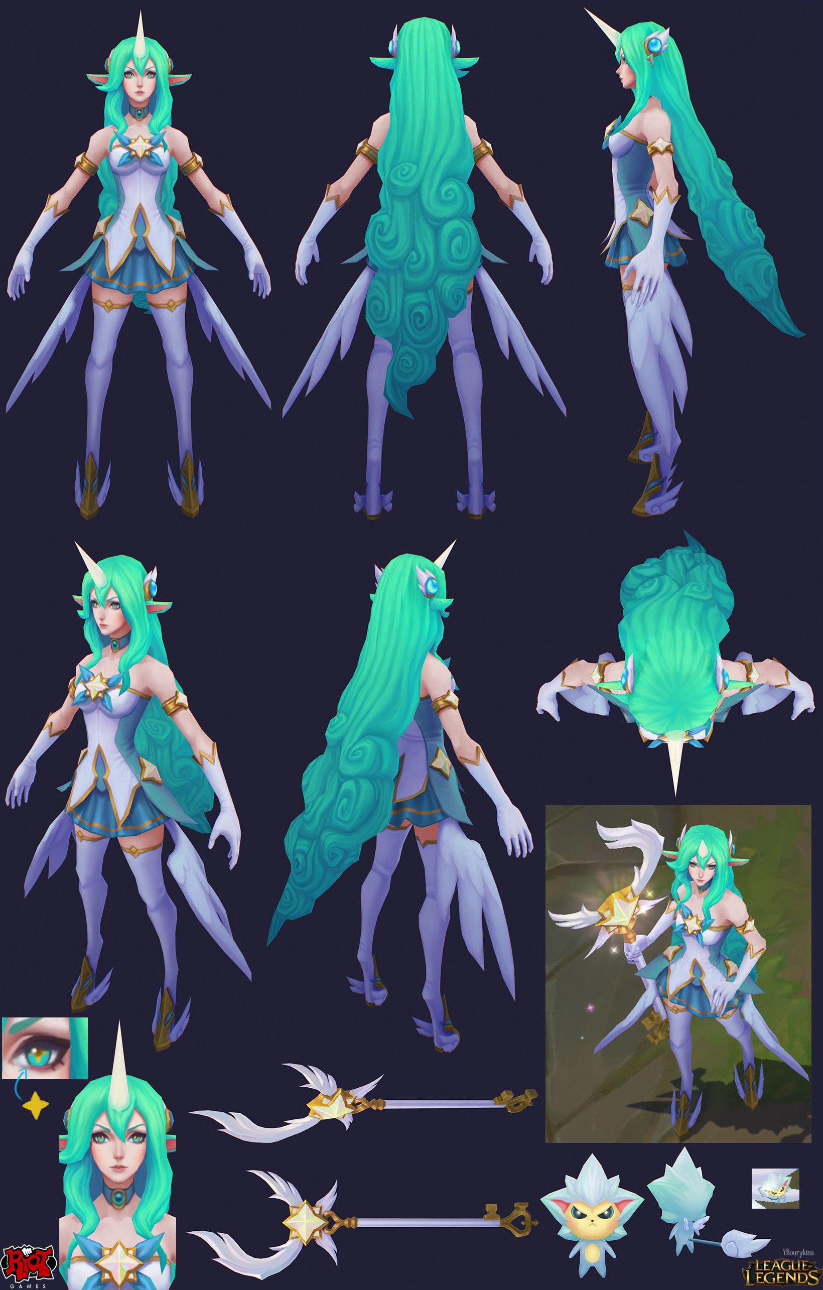 Artstation Star Guardian Miss Fortune And Soraka Yekaterina Bourykina League Of Legends Characters Lol League Of Legends Champions League Of Legends