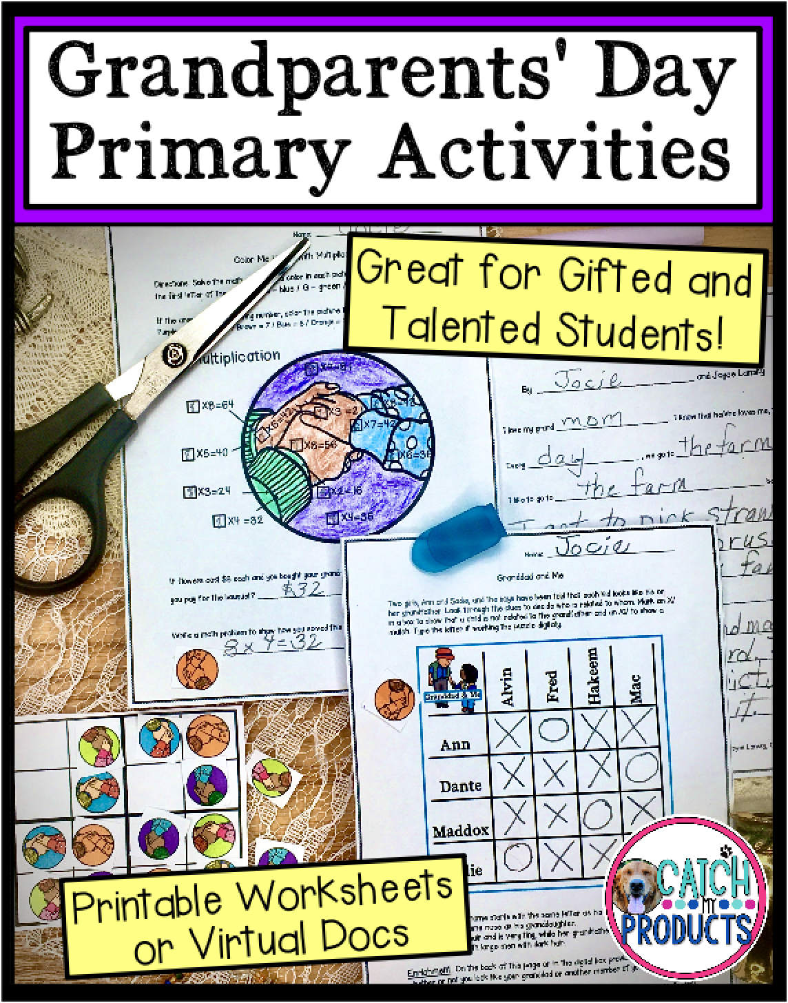 Grandparents Day Activities In Printable Or Virtual