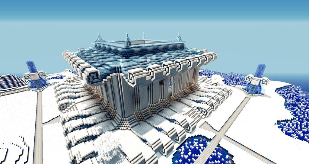Image result for ice city minecraft | Building | Pinterest ...
