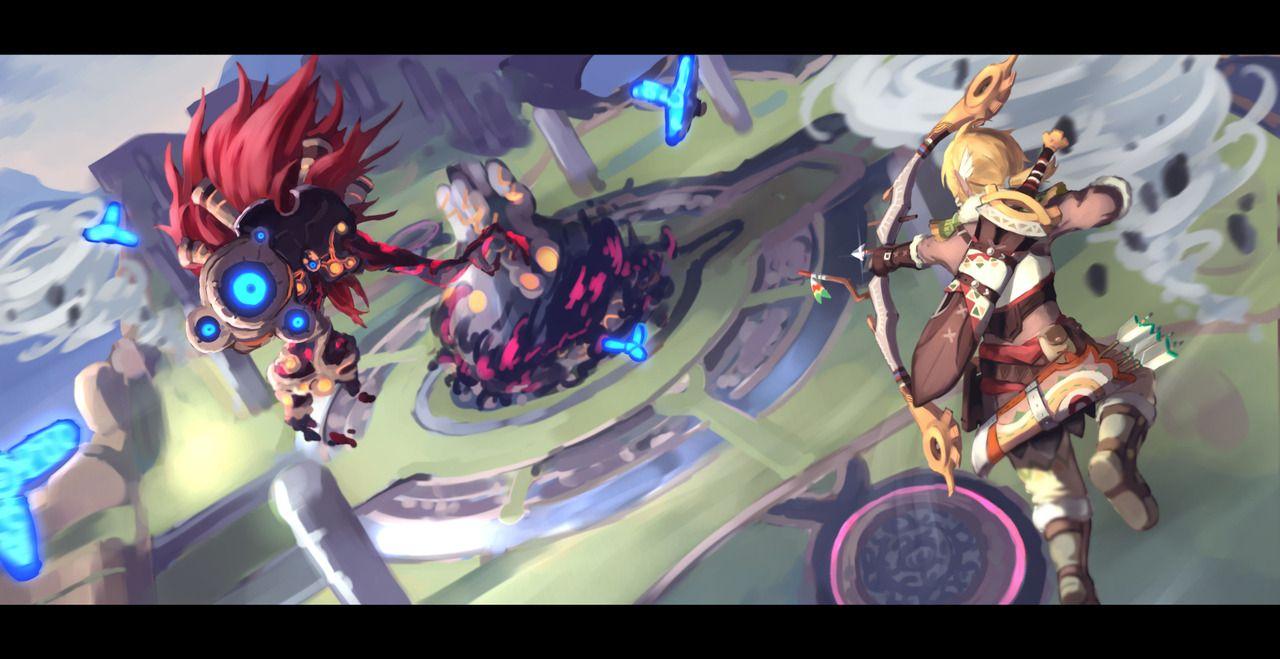 Wroage Windblight Ganon Legend Of Zelda Legend Of Zelda Breath Zelda Art