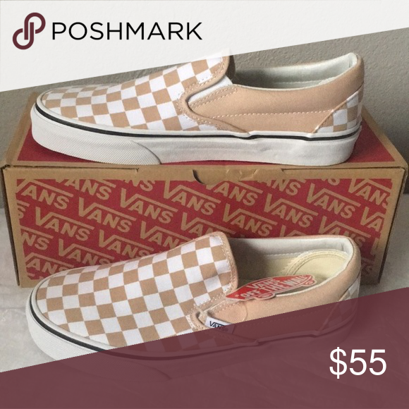 fe82c63c540 vans classic slip on(checkerboard)frappe true wht 11 17 Vans Shoes Sneakers