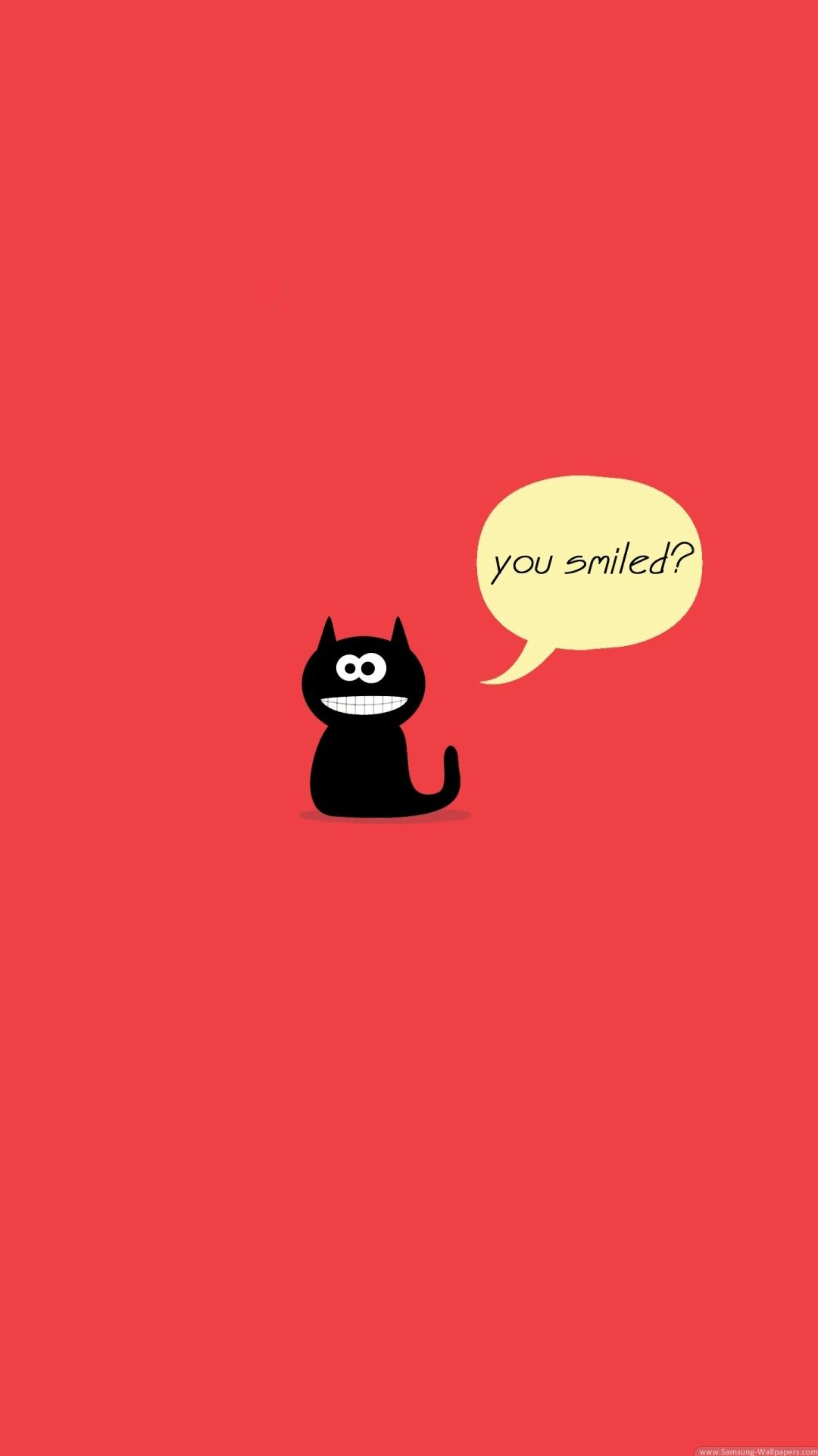 TAP AND GET THE FREE APP! Fun You Smiled Red Cute Black