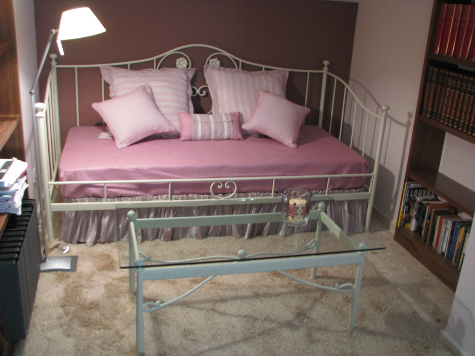 Cama Sofa Forja Hideaway Bed Mattress Divan De Modelo Lino Tienda Online Www