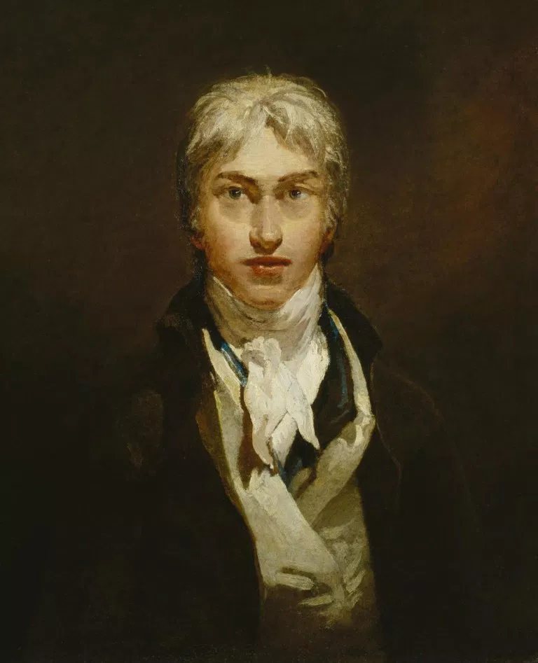 J. M. W. Turner Daily Dose of Art selfportrait, oil on