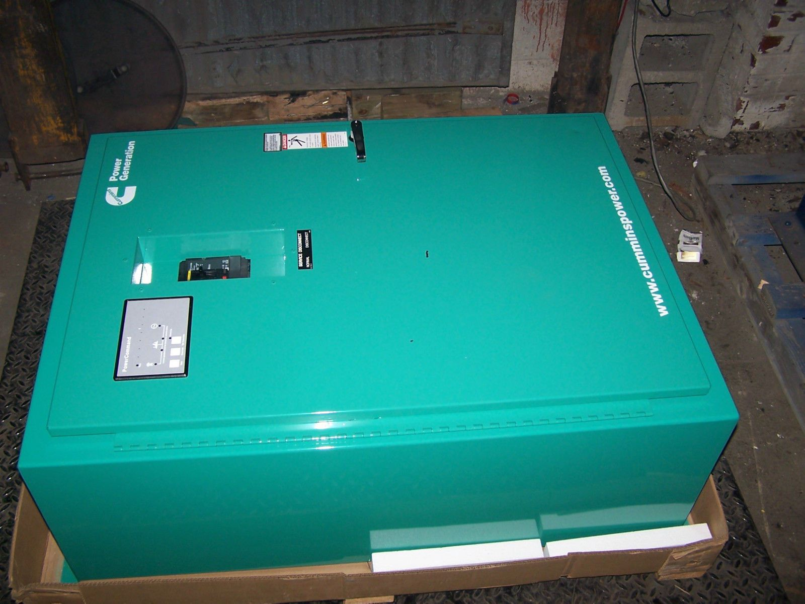 Power Generation Cummins Transfer Switch New Cummins 125 Amp Power Generation Automatic Transfer Switch 208 Vac Transfer Switch Cummins Vac