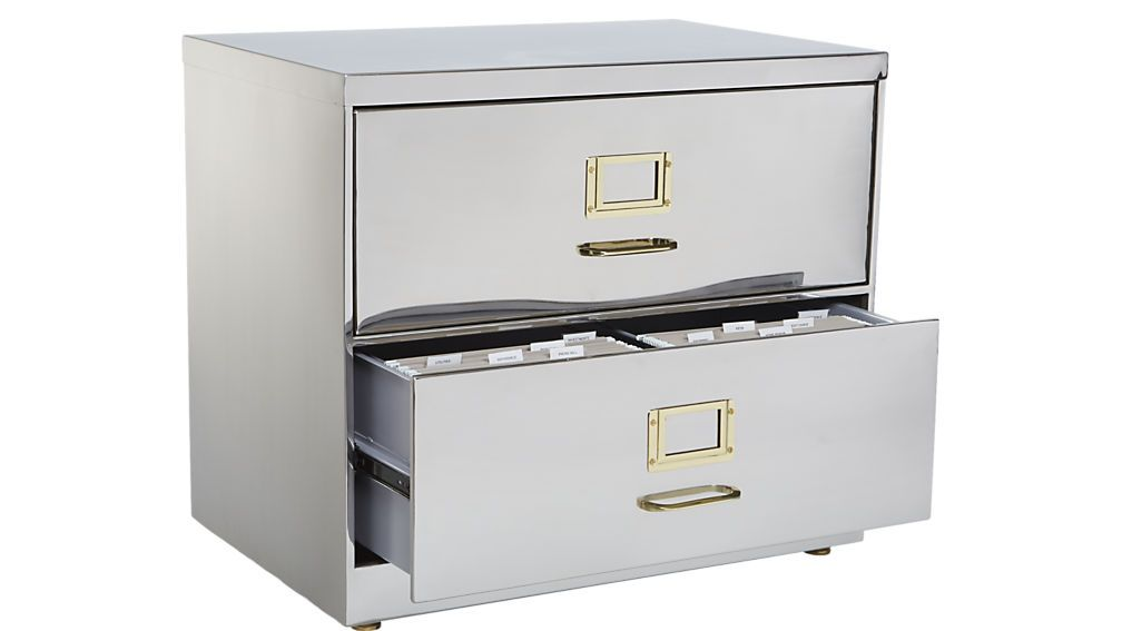 Stainless Steel File Cabinet Filing Cabinet Office Furniture