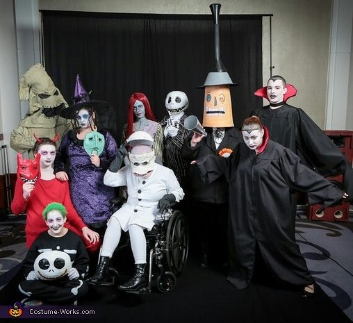 The Nightmare Before Christmas - Halloween Costume Contest at ...