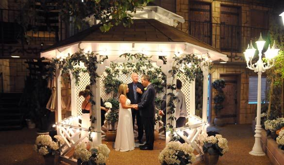 Evening Outdoor Gazebo Wedding Package Does Not Include The 60 Cash Only Minister Fee And Tip For Limousine Driver Which Is Suggested
