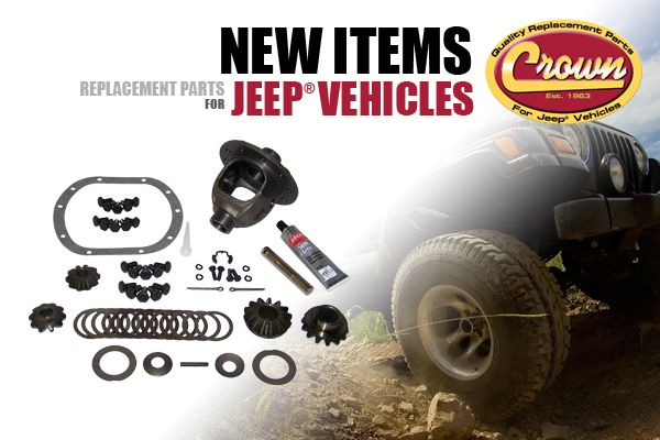 New Items from Crown Automotive.