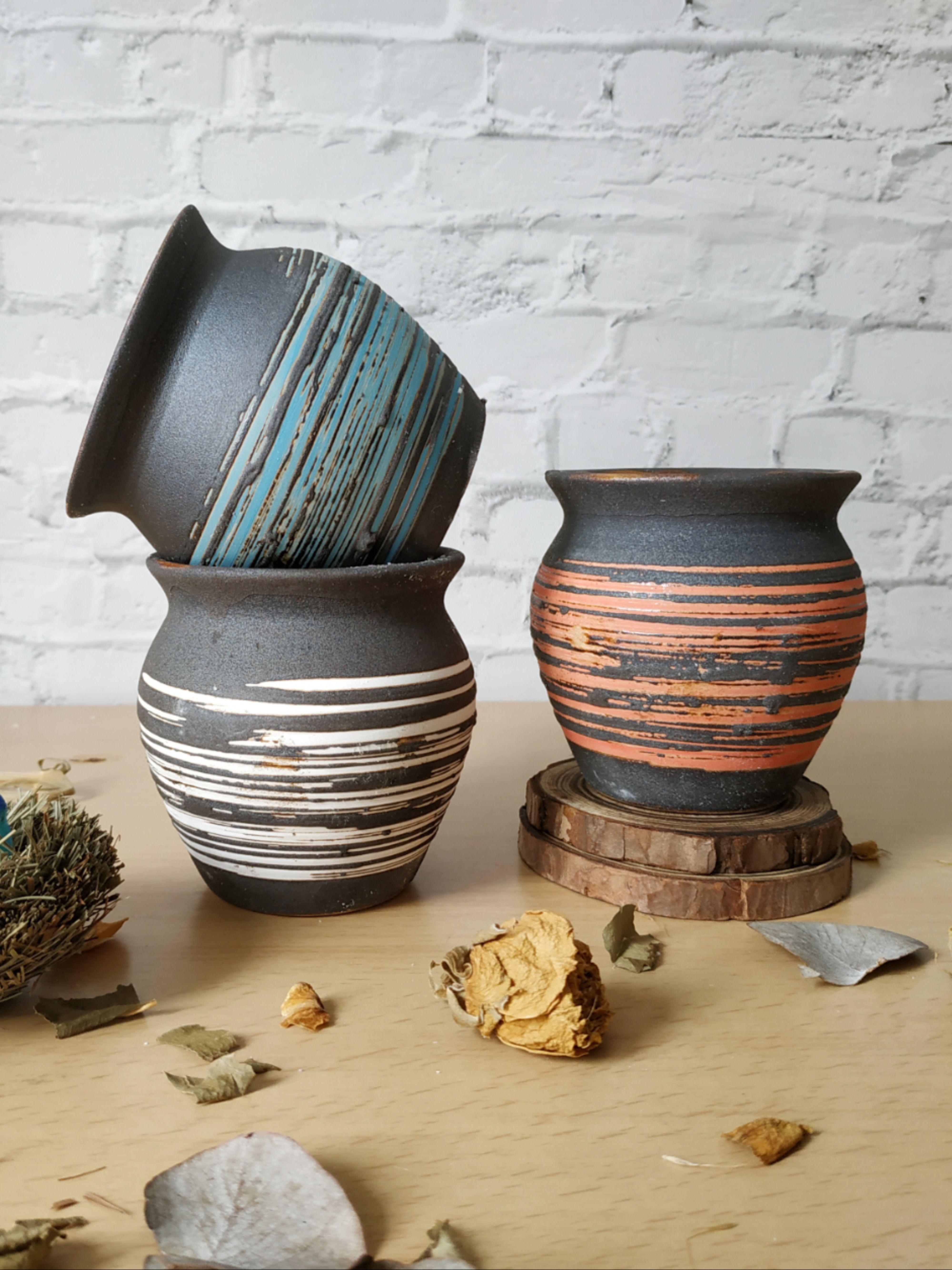 Set Of 3 Ceramic Pot Ceramic Planter Pot Planter Pot Indoor Succulent Pot Succulent Planter Clay Pot Ceramic Planter Pots Planter Pots Indoor Small Planter