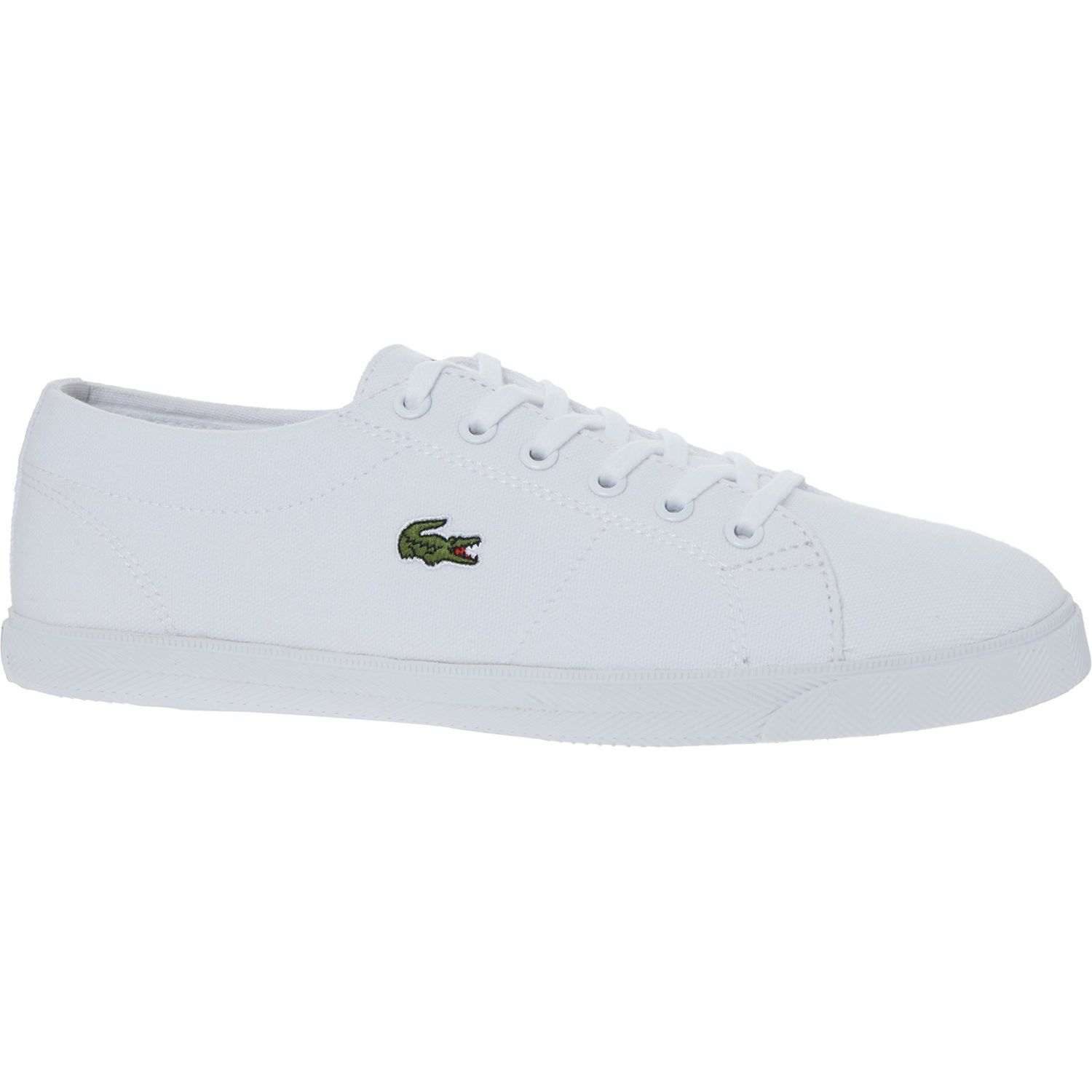 60f800b4560 White Canvas Logo Trainers in 2019 | Spring Style | Sneakers ...