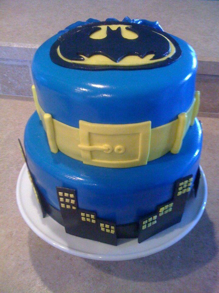Batman cake   Cupcake cakes, Different cakes, Professional ...