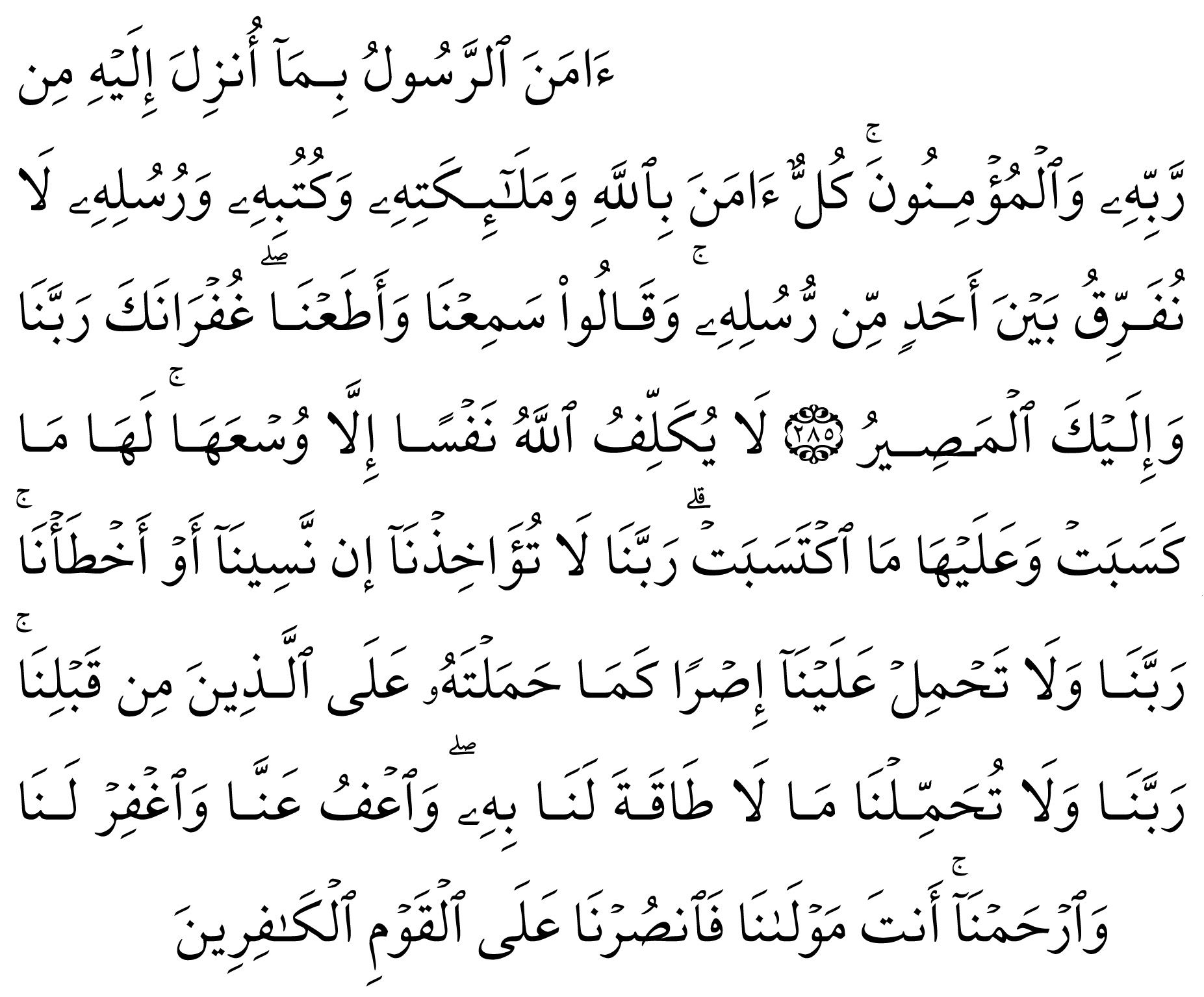 Amenerrasulu Dinlemeye Ne Dersiniz Holy Quran Videos