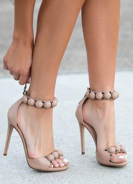 Bianco FRILL - High heels - orange wgwqW