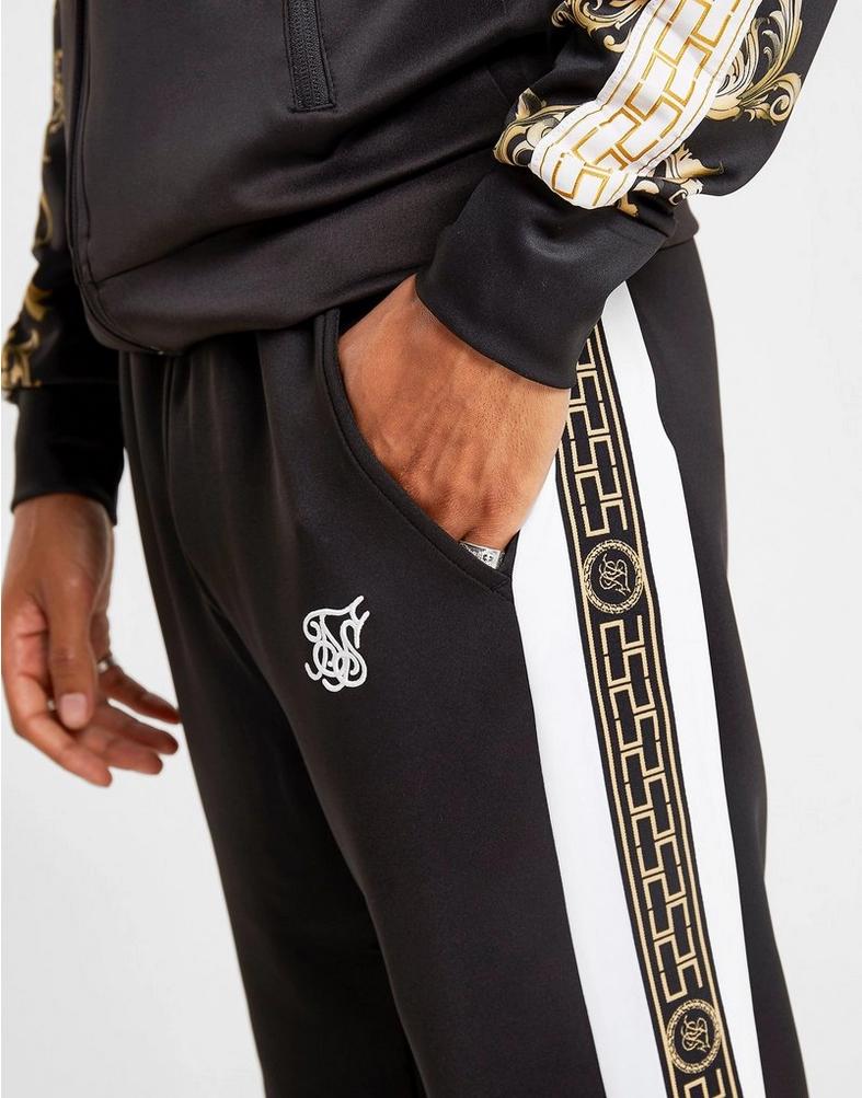 SikSilk Panel Tape Track Pants Shop mens clothing, Track