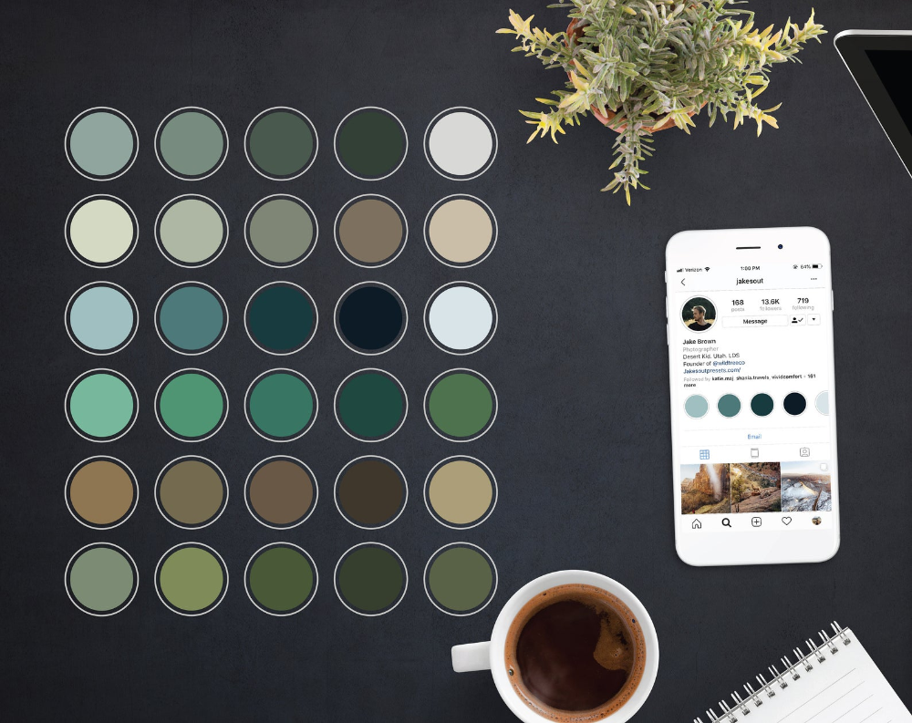 30 Instagram Highlights / iOS 14 App Icons Forest greens