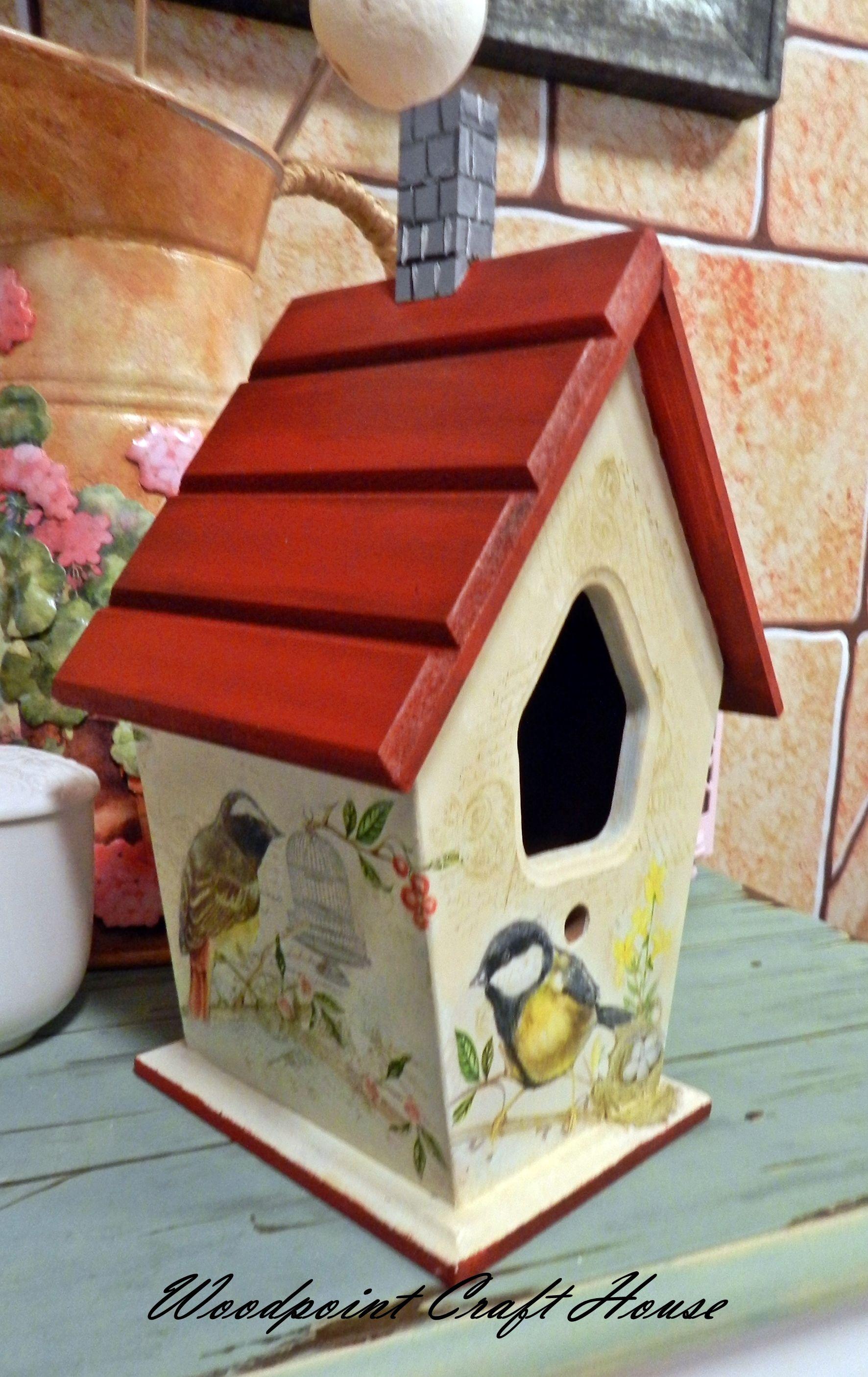 casita de p jaros manualidades pinterest nichoir cabane oiseaux y oiseaux. Black Bedroom Furniture Sets. Home Design Ideas