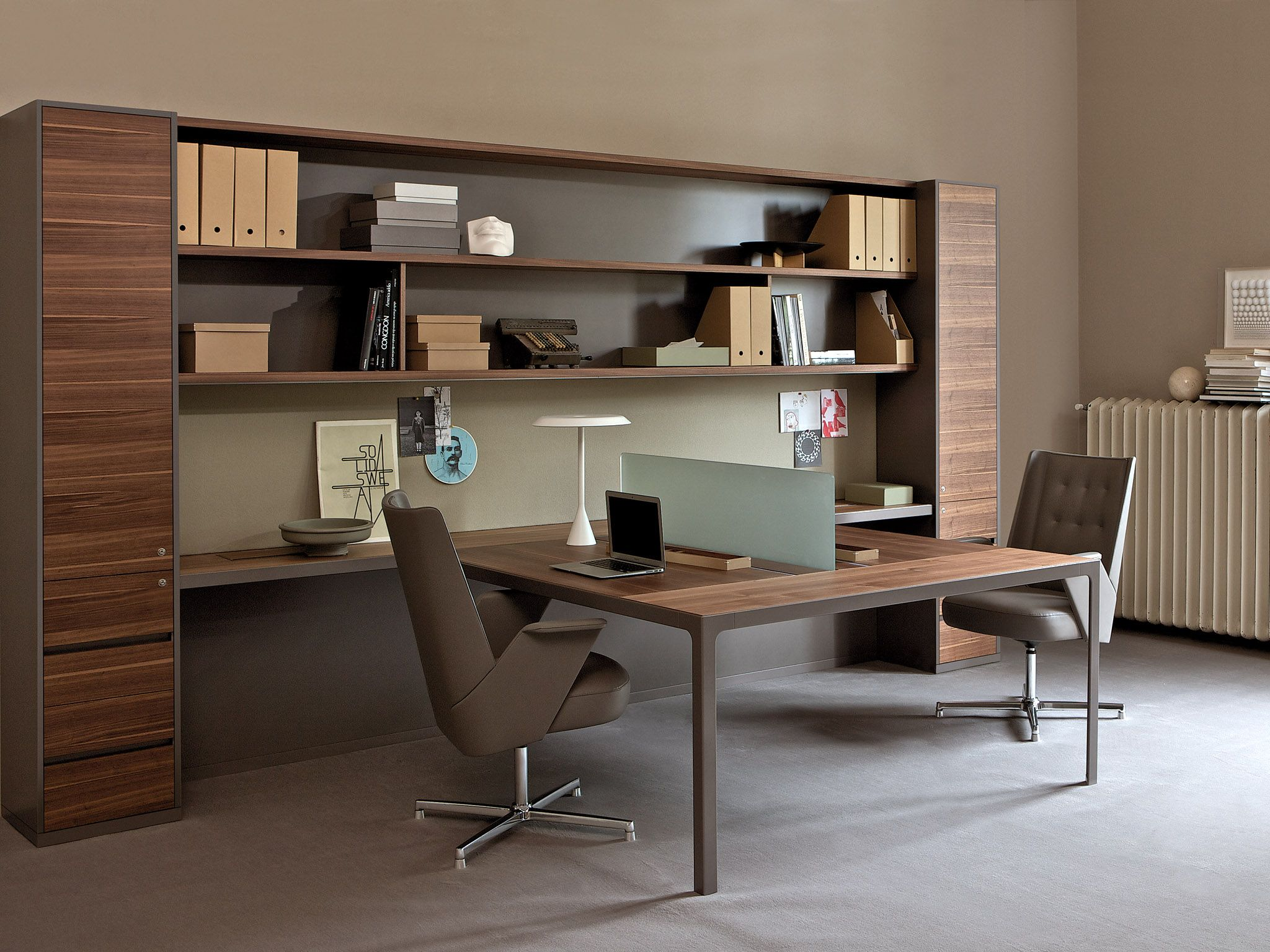 Estel Mobili ~ Multiple office workstation workwall more by estel group design