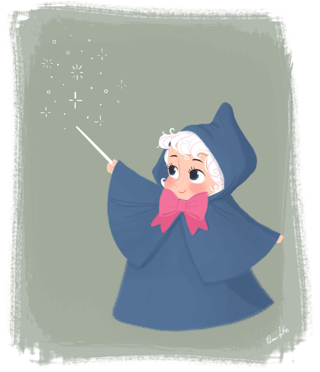 Fairy Godmother By Vijolea Deviantart Com On Deviantart Disney