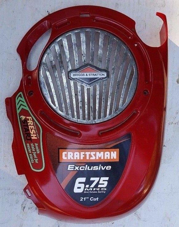 Craftsman Mower Engine Cover Shroud 6 75hp Mrs Briggs
