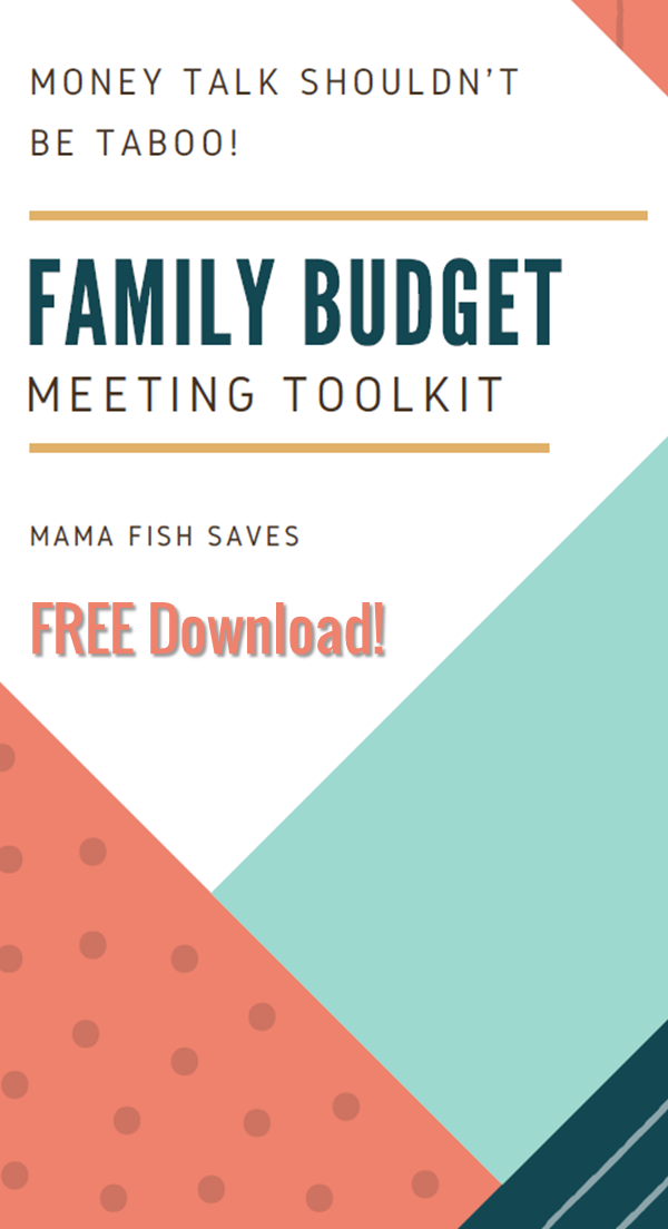 How to Hold an Effective Family Budget Meeting | Budgeting, Free ...
