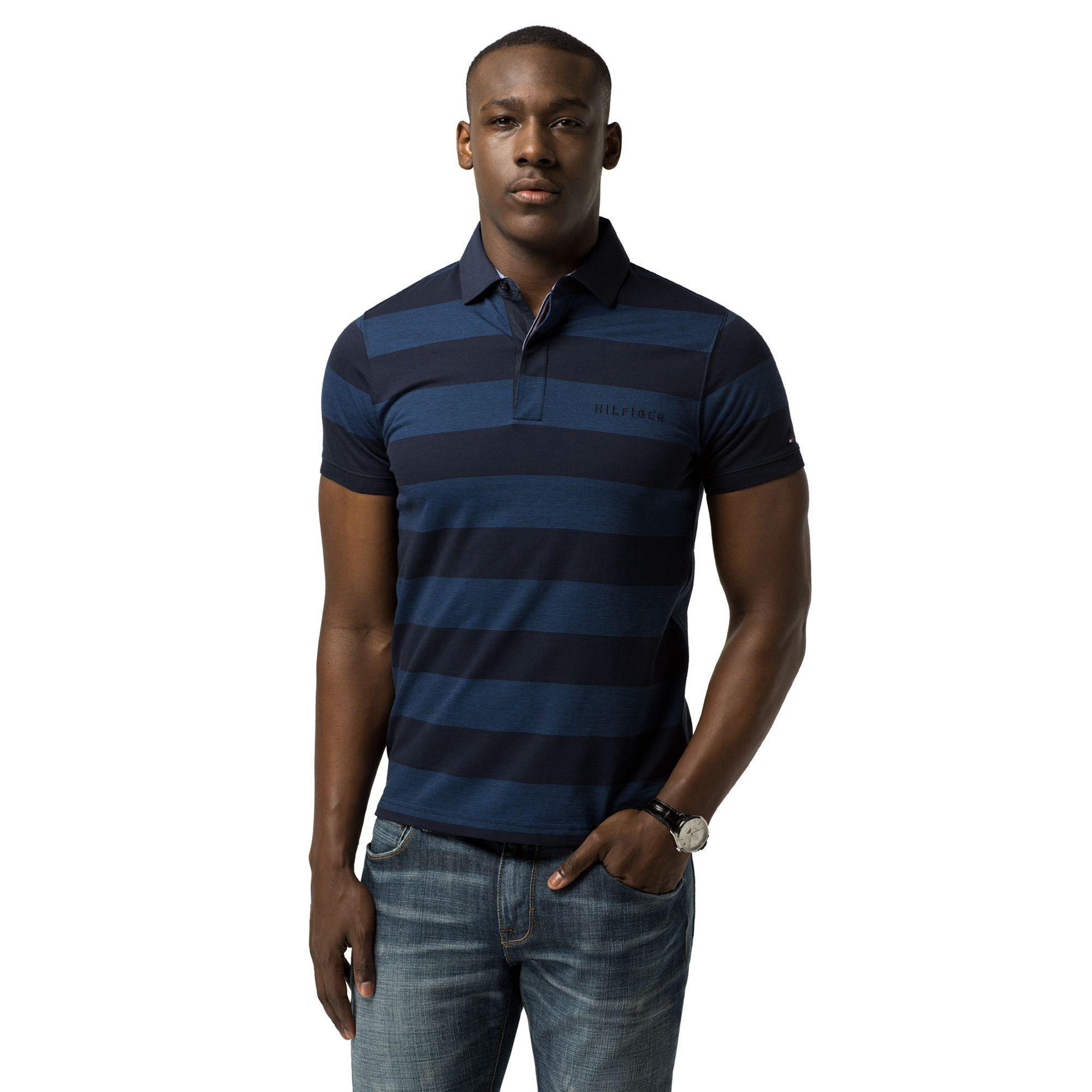 Tommy Hilfiger Slim Fit Polo Sky Captain Blue Depths Modesens Slim Fit Polo Tommy Hilfiger Mens Sportswear