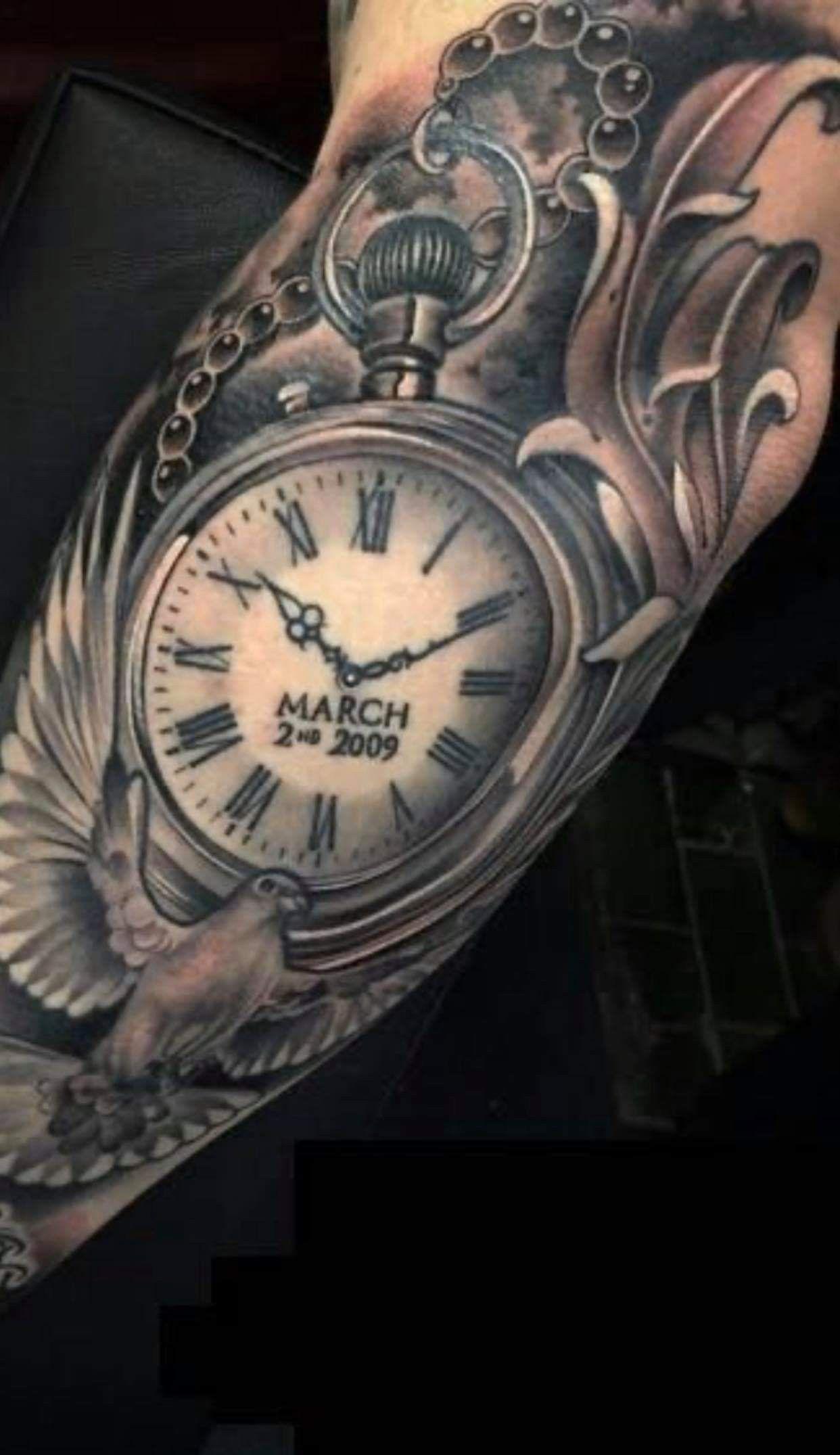 Pin By Cynthia Mason On Ideas In 2020 Pocket Watch Tattoos Watch Tattoo Design Pocket Watch Tattoo Design
