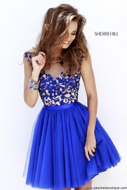 Sherri Hill Short Homecoming Dress 11171 at Peaches Boutique ...