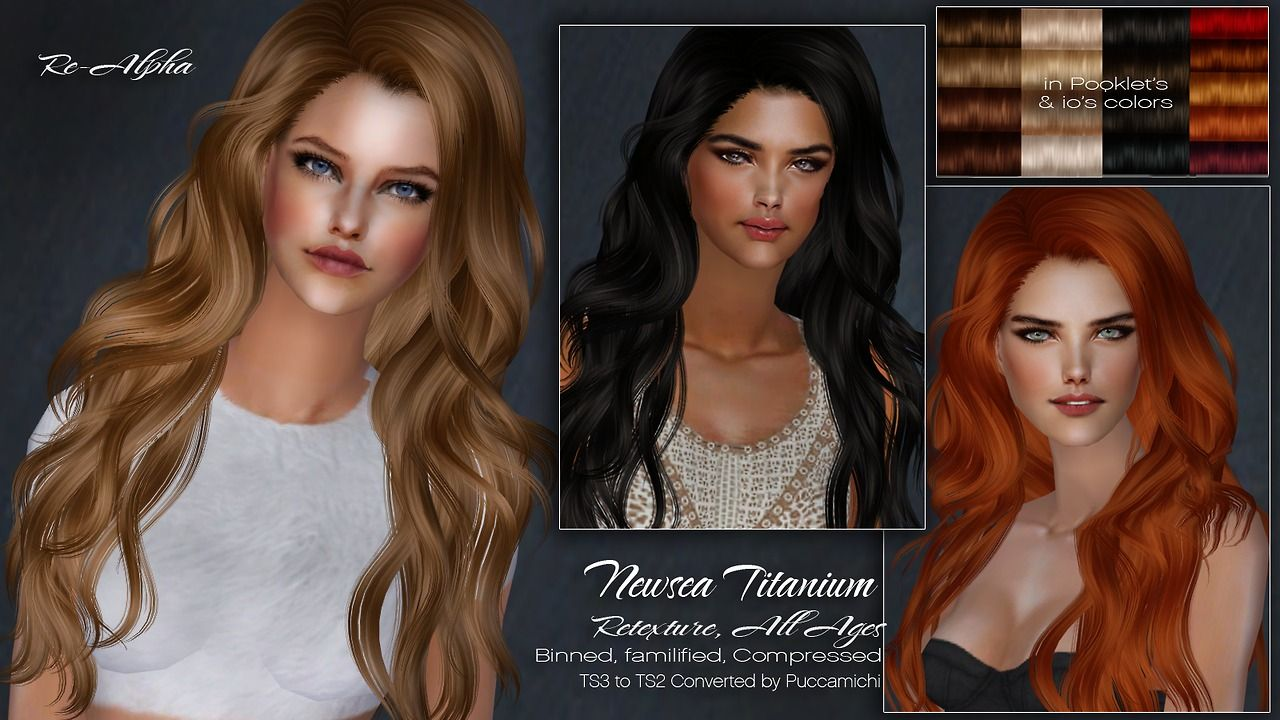 Puccamichi Sims Newsea Titanium Converted For Sims 2 It