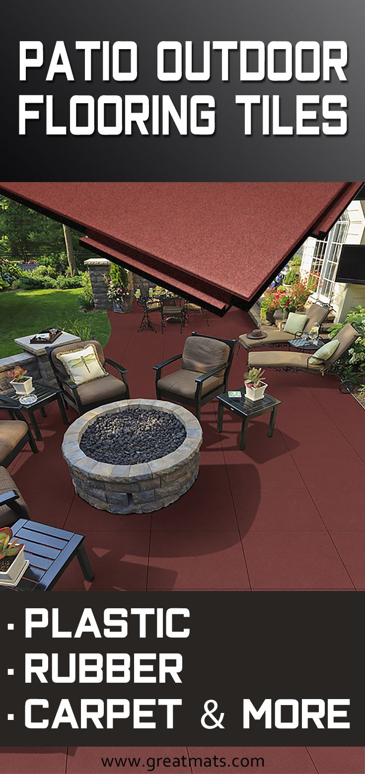 Outside Patio Tile Ideas: What's The Difference Between Non Slip Patio Tiles For