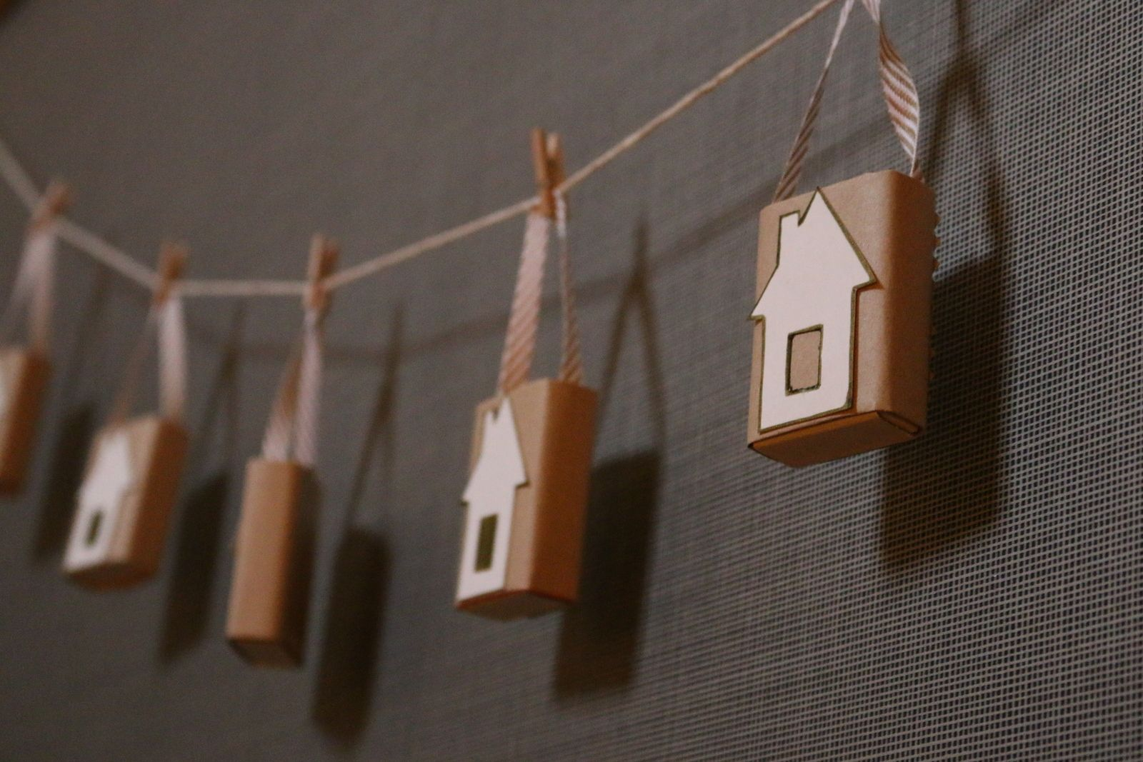 Make a house bunting