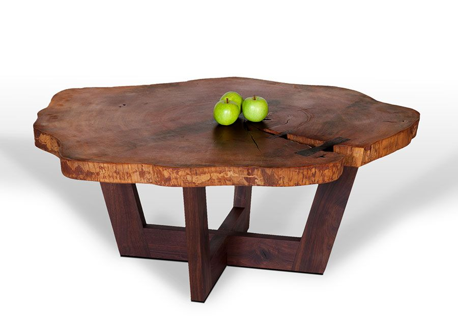 Jackson Coffee Table Iii Live Edge Coffee Table David Stine Woodworking Tables Desk