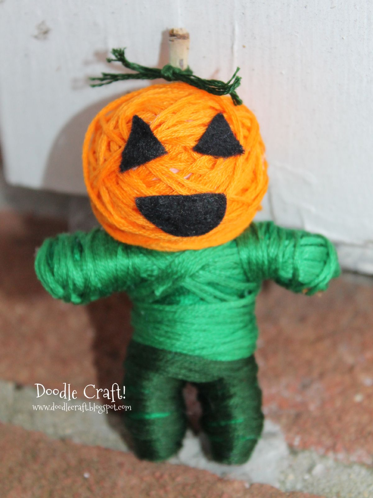 We could make these as superheroes instead of voodoo dolls - Halloween Decorations For Kids