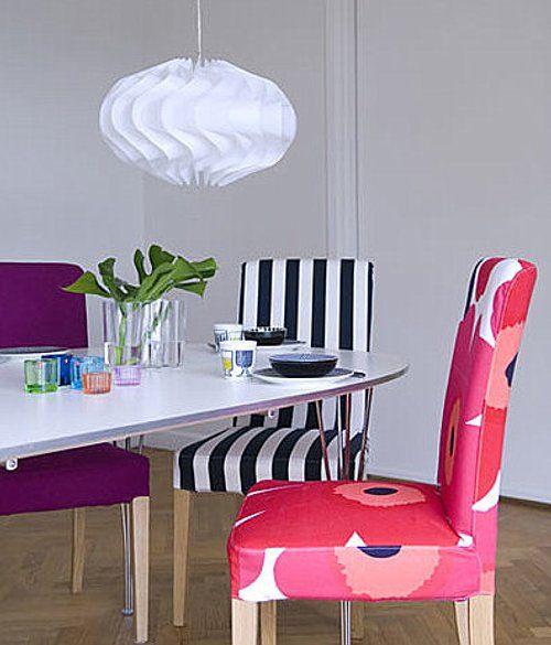 Idea para Renovar las Sillas del Comedor | Comedor | Dining room ...