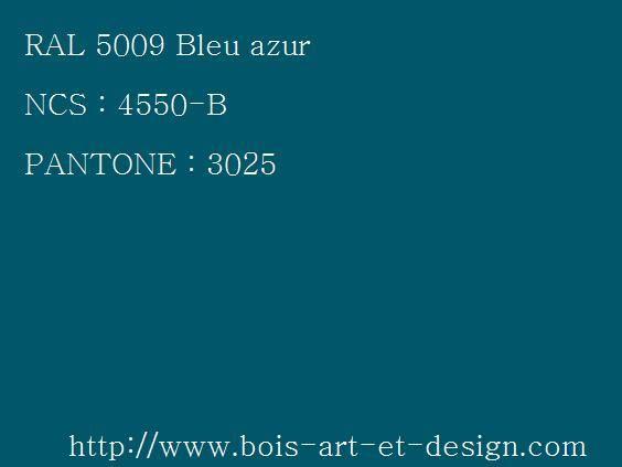 Ral 5009 Bleu Azur Jpg 564 423 Pantone Color Bleu