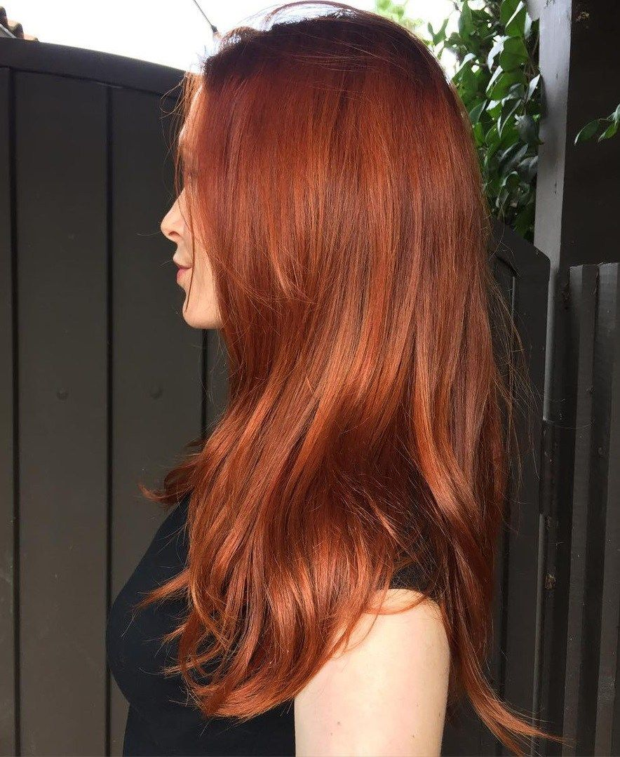 Diy Natural Hair Dyeing Using Henna Ginger Hair Color Natural Hair Diy Natural Hair Styles