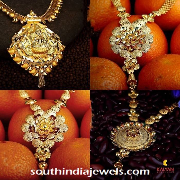 22k gold necklace designs from Kalyan Jewellers | Necklace ...
